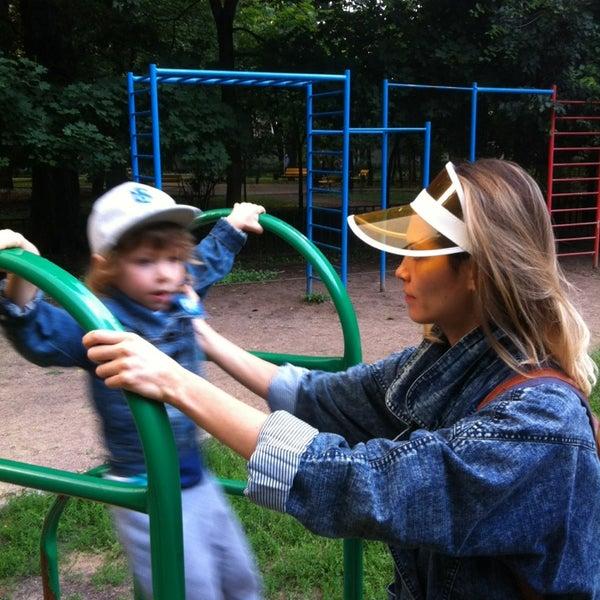 Снимок сделан в Щемиловский детский парк пользователем Пицца Л. 7/9/2013