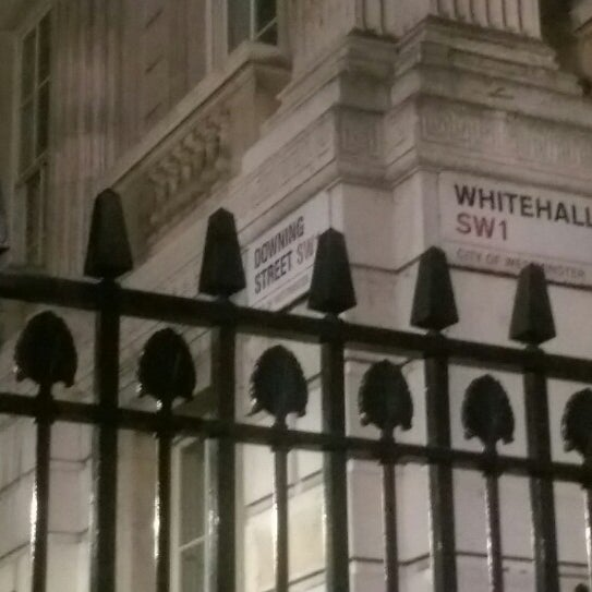 Photo taken at 10 Downing Street by Gary G. on 6/2/2014