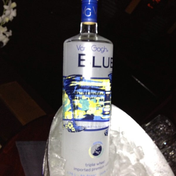 Photo taken at Blue Martini Brickell by Brickell P. on 1/24/2013
