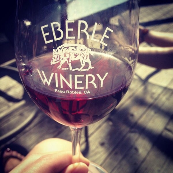 Photo taken at Eberle Winery by Maxim R. on 3/30/2017