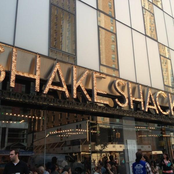 Photo taken at Shake Shack by vanessa m. on 6/23/2013