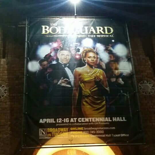 Photo taken at Centennial Hall by Pete R. on 4/13/2017