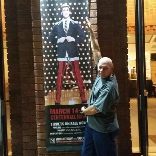 Photo taken at Centennial Hall by Pete R. on 3/18/2017