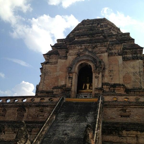 Photo taken at Wat Chedi Luang Varavihara by saii s. on 1/29/2013