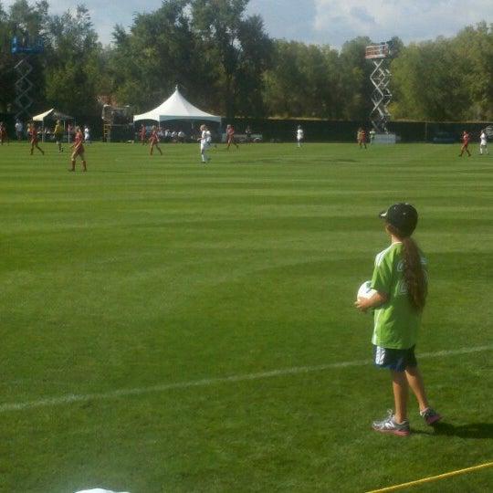 Photo taken at Prentup Field by John C. on 9/30/2012