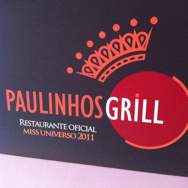Foto tirada no(a) Paulinho's Grill por Thiago P. em 2/5/2013