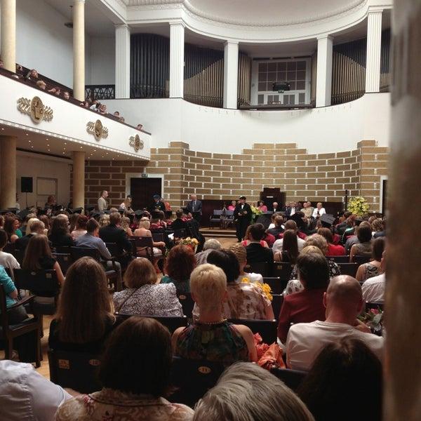 Photo taken at University of Latvia by Katie on 6/21/2013