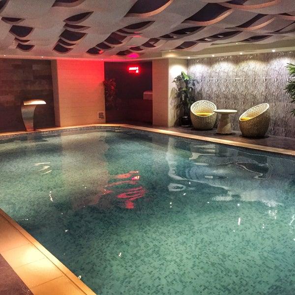 3/29/2016 tarihinde Orkun Mert Kabadayıziyaretçi tarafından Queen Hotel & Spa'de çekilen fotoğraf