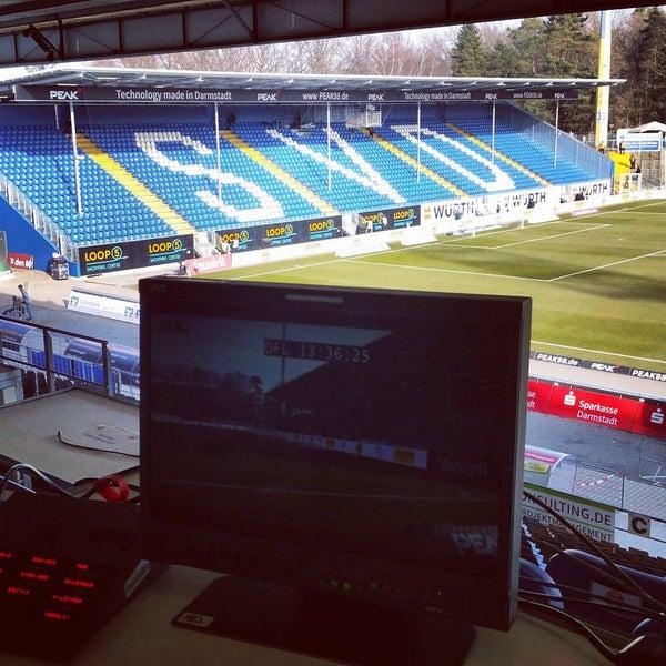 Merck-Stadion am Böllenfalltor - Soccer Stadium