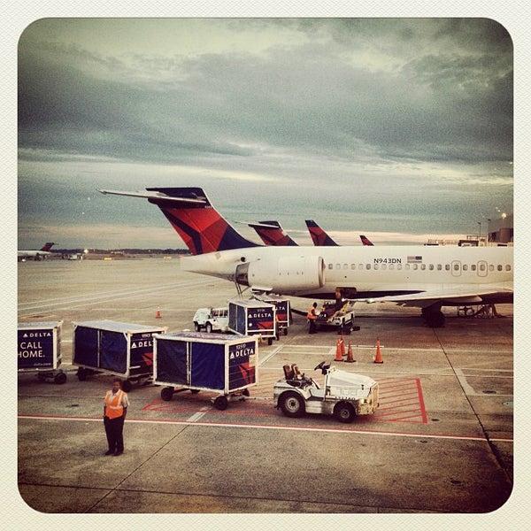 Photo taken at Hartsfield-Jackson Atlanta International Airport (ATL) by Keith J. on 10/18/2013