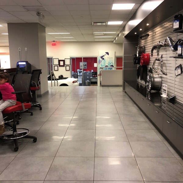 Photo Taken At Manhattan Jeep Chrysler Dodge Ram Fiat Parts And Service  Center By Abdulrahman M