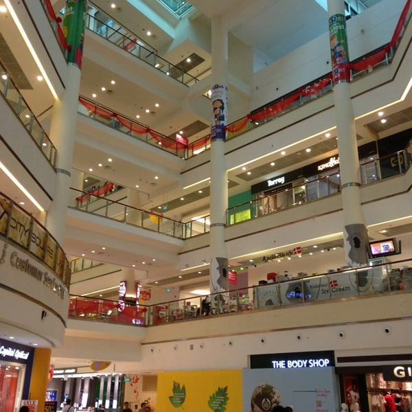Photo taken at City Square Mall by Liu Y. on 1/16/2013