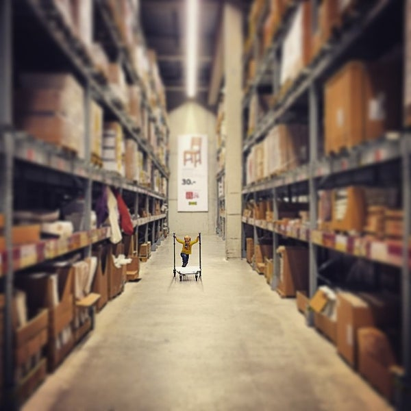 Photo taken at IKEA by Andreas S. on 1/4/2015