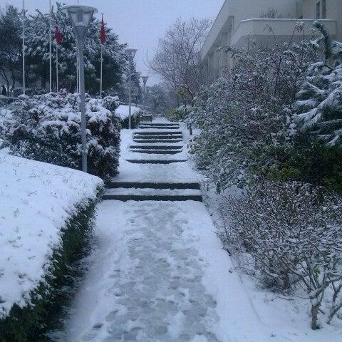 Foto diambil di İstanbul Teknik Üniversitesi oleh Caglar V. pada 1/16/2013
