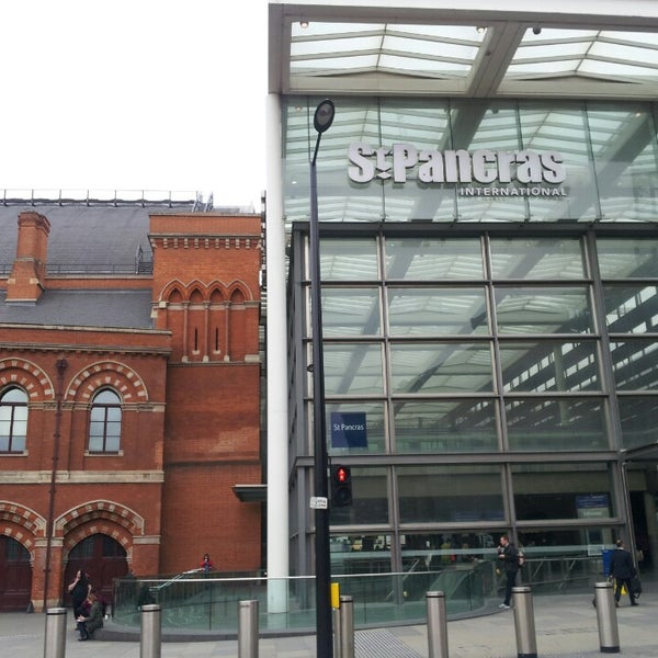 Photo taken at London St Pancras International Railway Station (STP) by Godwyns O. on 6/24/2013
