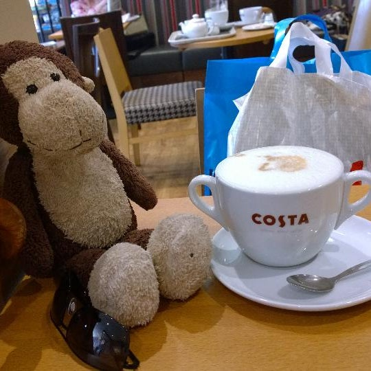 Photo taken at Costa Coffee by Chris M. on 8/15/2014