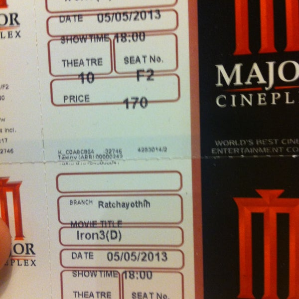Photo taken at Major Cineplex Ratchayothin by JomBond 0. on 5/5/2013