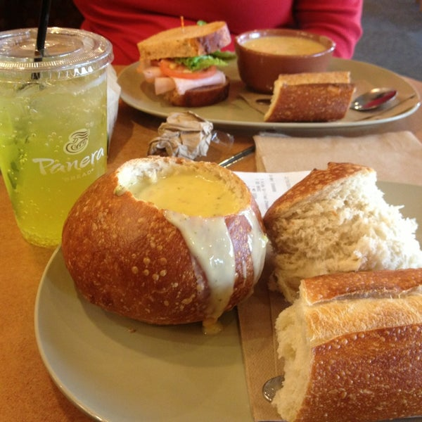 Photo taken at Panera Bread by Madison J. on 2/15/2013