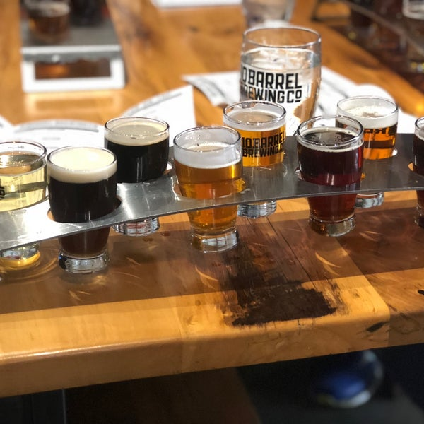 Photo taken at 10 Barrel Brewing by Antonio H. on 11/19/2017