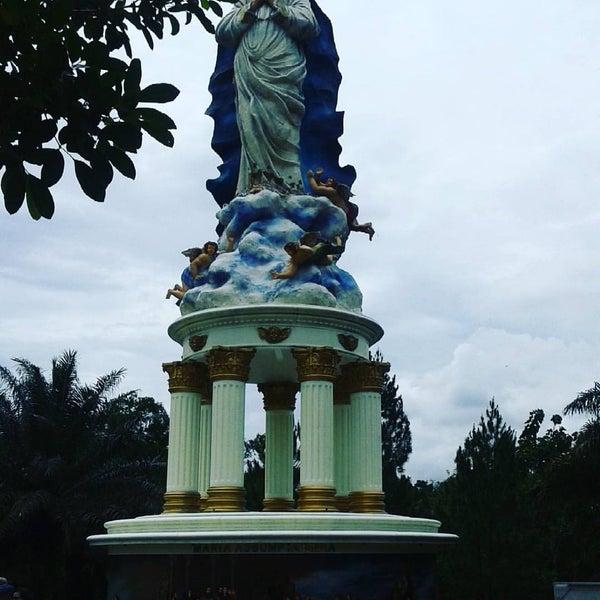 Photo taken at Gua Maria Kerep by Vinsensia Retno W. on 12/11/2016