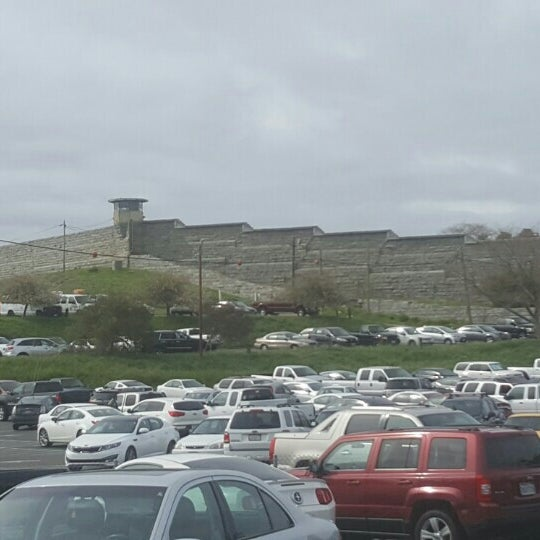 Photo taken at Folsom State Prison (FSP) by Brian D. on 3/9/2016