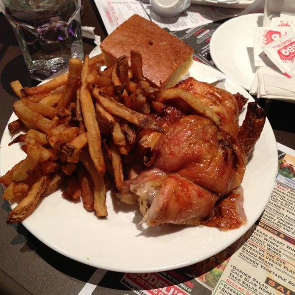 Photo taken at Dallas BBQ by Douglas A. on 1/19/2013
