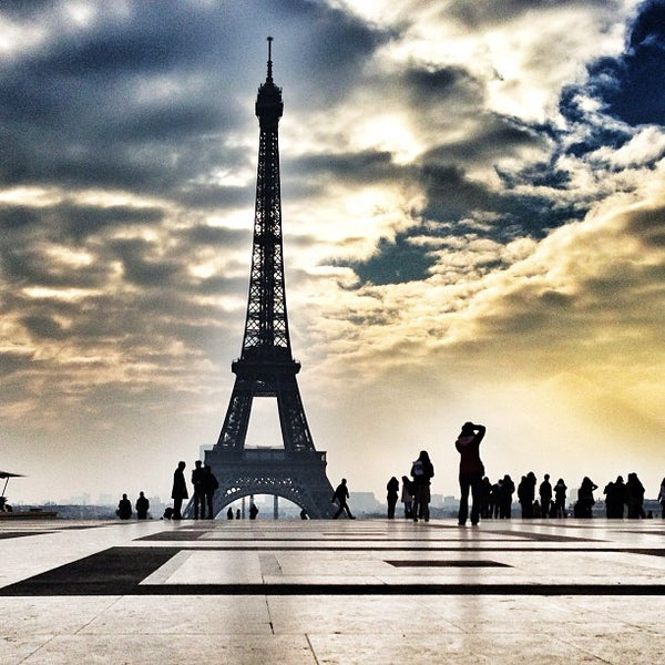 Photo prise au Place du Trocadéro par Bois H. le2/28/2013