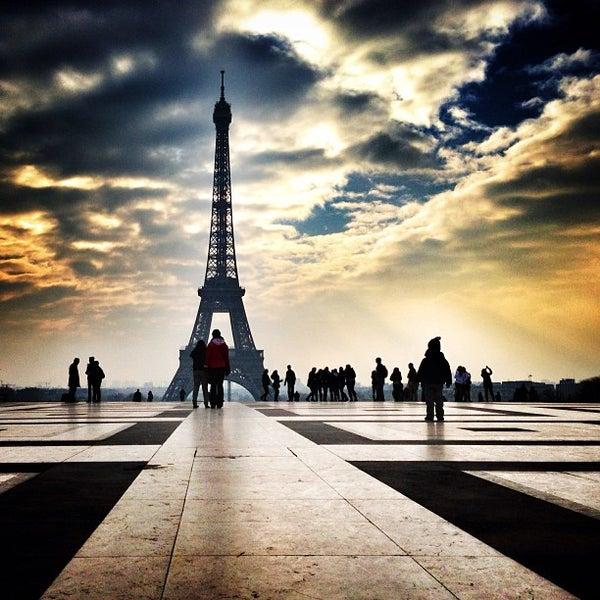 Photo prise au Place du Trocadéro par Bois H. le2/24/2013