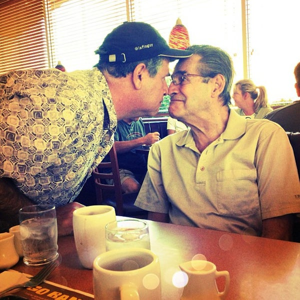 Photo taken at Denny's by MoniQue on 10/7/2012