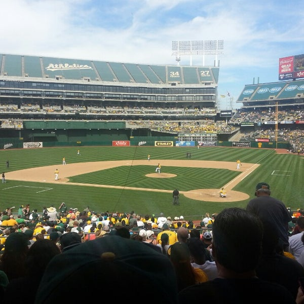 Photo taken at O.co Coliseum by Muffin V. on 6/2/2013