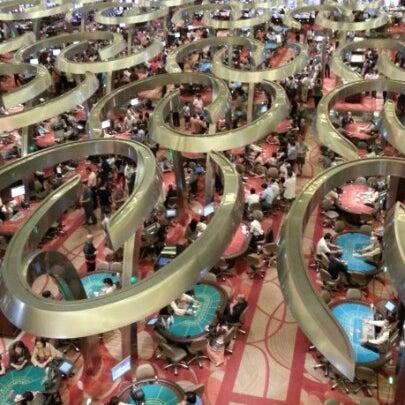 Photo taken at Marina Bay Sands Casino by Nek O. on 9/25/2012