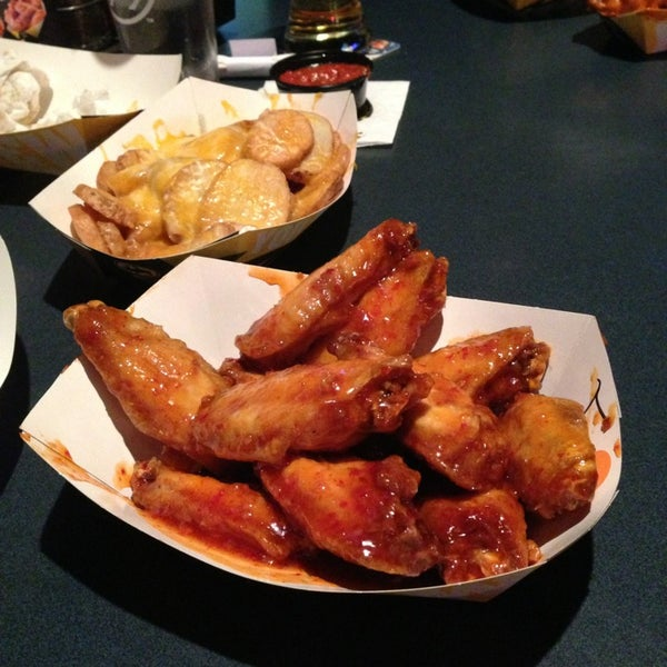 Photo taken at Buffalo Wild Wings by Dave on 2/25/2013