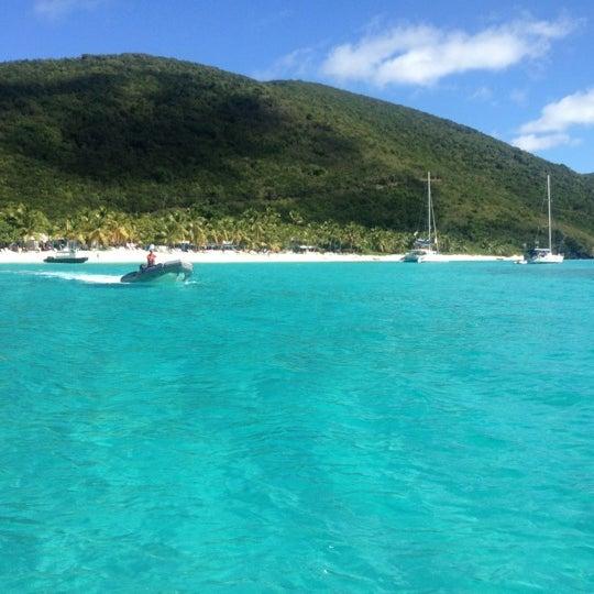 Photo taken at Jost Van Dyke Island by Samer Y. on 12/8/2012