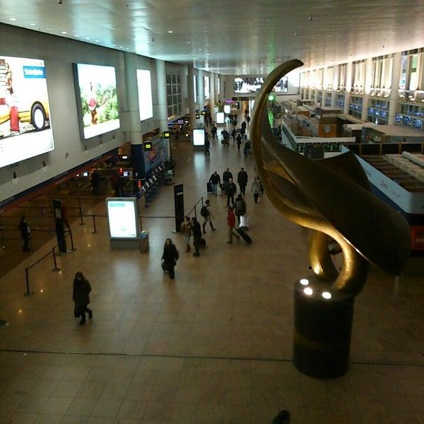 Снимок сделан в Брюссельский аэропорт (BRU) пользователем Jonas D. 11/21/2013
