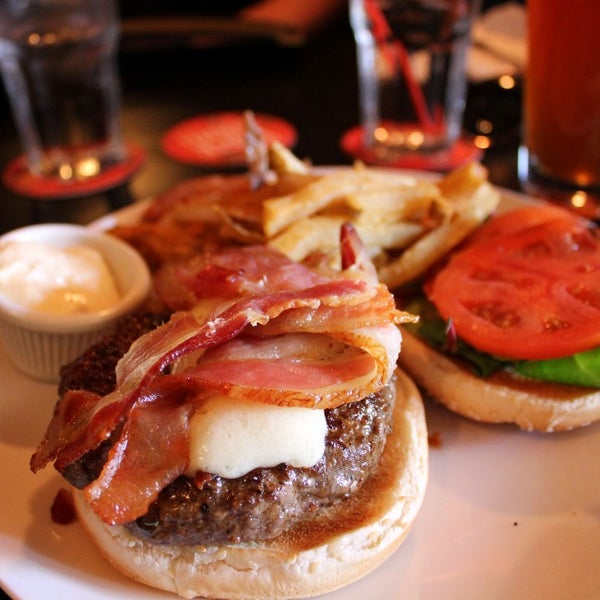 Wipps' favorite burger of 2011 was at The Black Squirrel because of the gooey, seemingly never-ending glob of Chimay cheese that topped the perfectly cooked medium-rare burger.