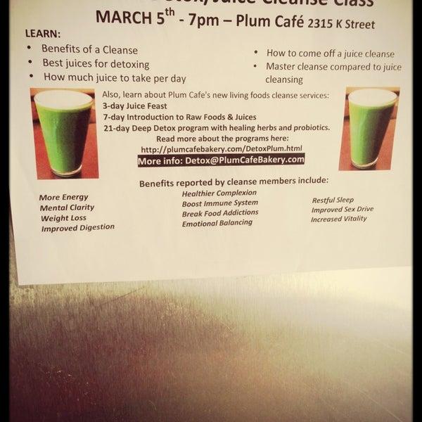 Photo taken at Sugar Plum Vegan Cafe by Rocky R. on 3/5/2013