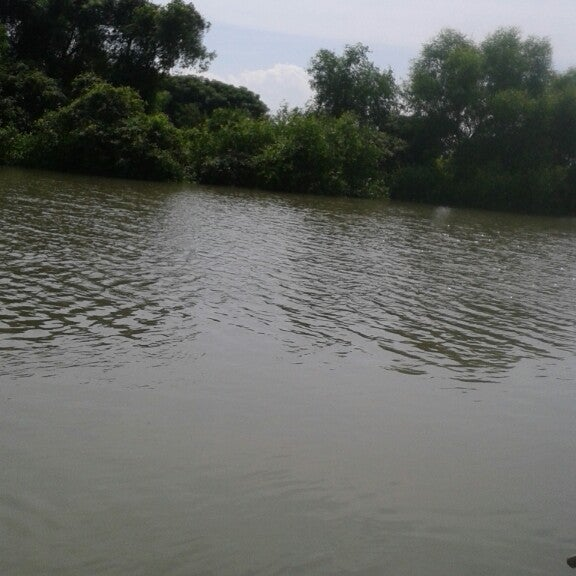 Photo taken at Ekowisata Mangrove by Fitria L. on 5/28/2014