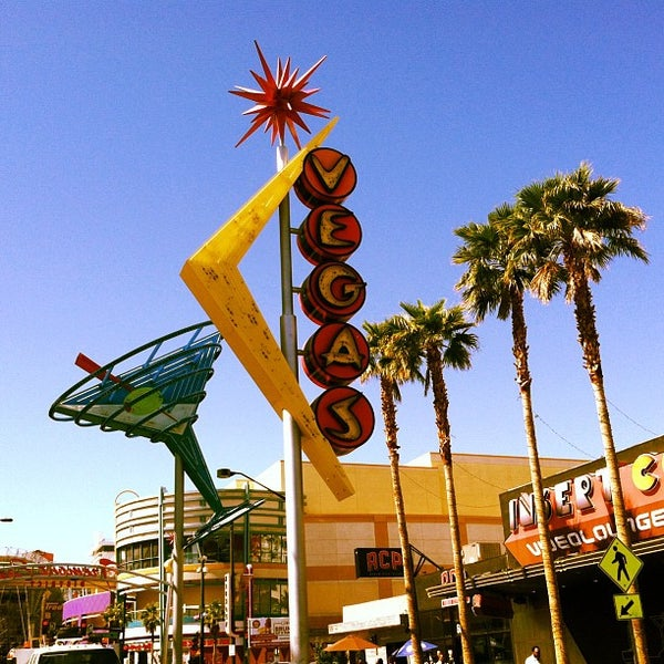 Photo taken at Downtown Las Vegas by Mike S. on 4/2/2013