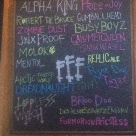 Photo taken at Three Floyds Brewery & Pub by Nate H. on 10/7/2012