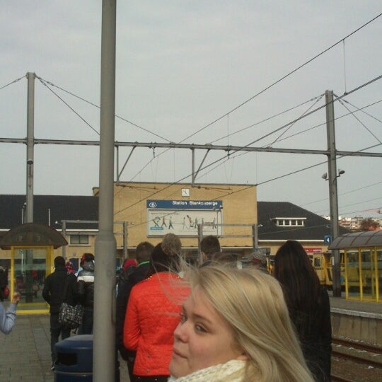 Photo taken at Station Blankenberge by Gwenn V. on 3/25/2013