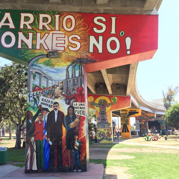 Photo taken at Chicano Park by Johnee's Babe 💋 on 8/13/2017