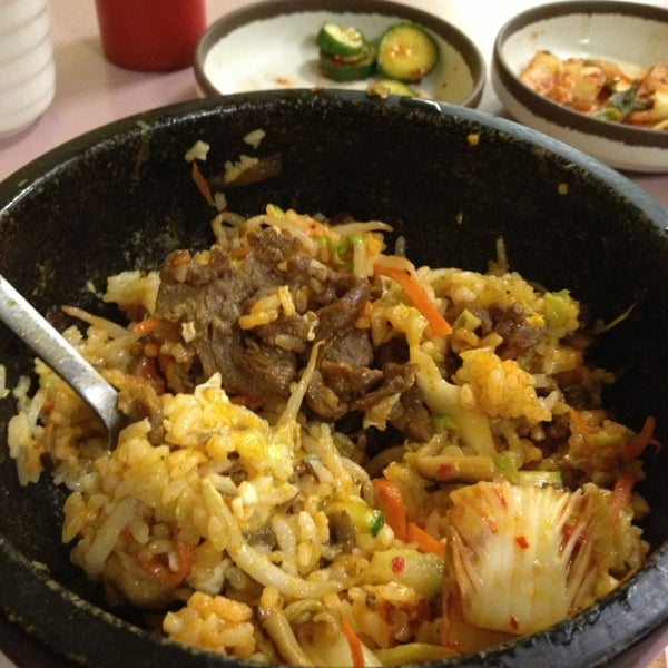 Photo taken at Jun's House Korean Restaurant by StarRain on 1/12/2013