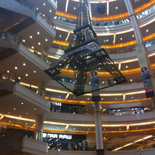 Photo taken at Pacific Place by Charles W. on 6/28/2013