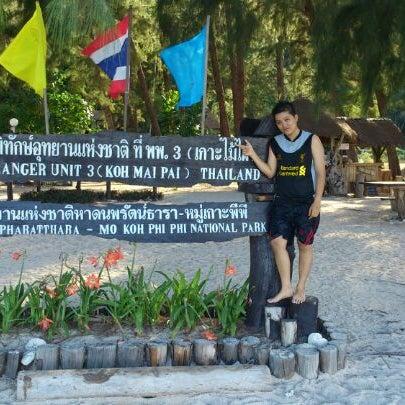 Photo taken at Phi Phi Island by Ann J. on 5/3/2013