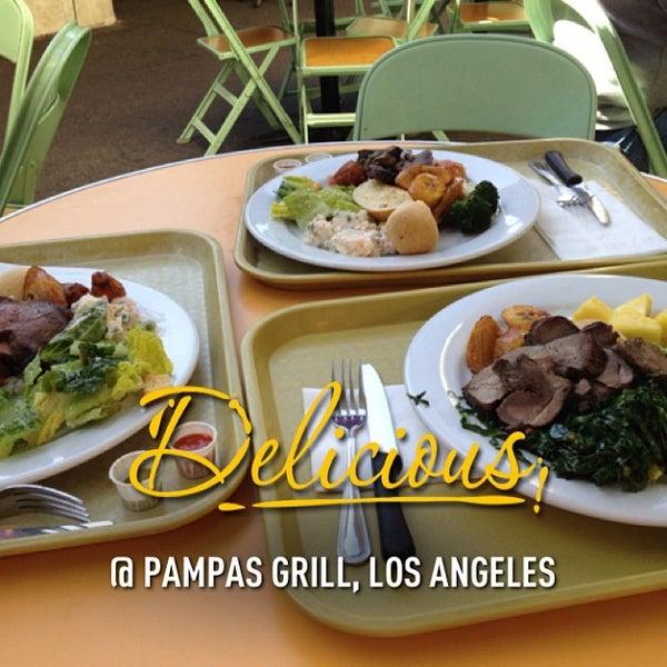 Photo taken at Pampas Grill Farmers Market by aaron d. on 1/30/2013