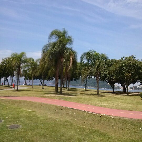 Photo taken at Flamengo Park by Thaís B. on 2/16/2013