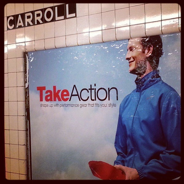 Photo taken at MTA Subway - Carroll St (F/G) by eric t. on 10/17/2013