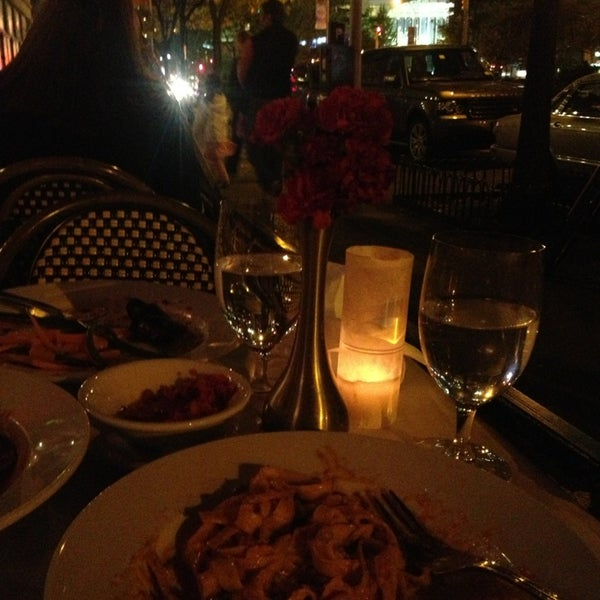 Photo taken at Luce Restaurant & Enoteca by Niña D. on 10/18/2013