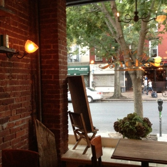 Photo taken at Frankies 457 Spuntino by Christine W. on 10/16/2012