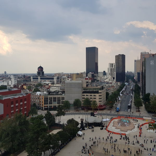Das Foto wurde bei Mirador Monumento a la Revolución Mexicana von Jesús S. am 10/15/2017 aufgenommen